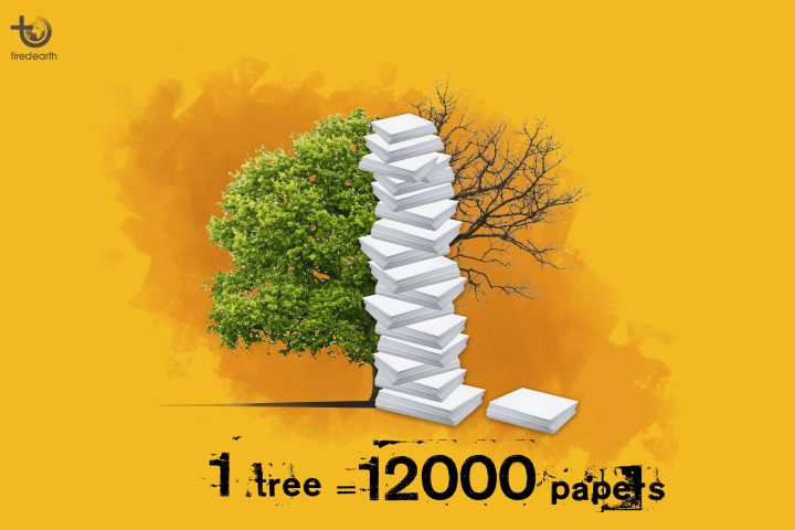 Less Paper, Save Forests, Rescue the Environment